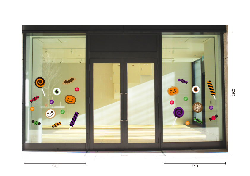 【VP】Halloween Snacksの施工写真