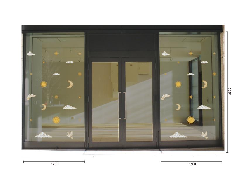 【VP】Sun and Moon カラーの施工写真