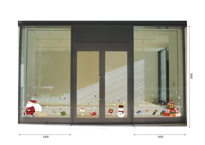 【VP】サンタさんのプレゼントの施工写真