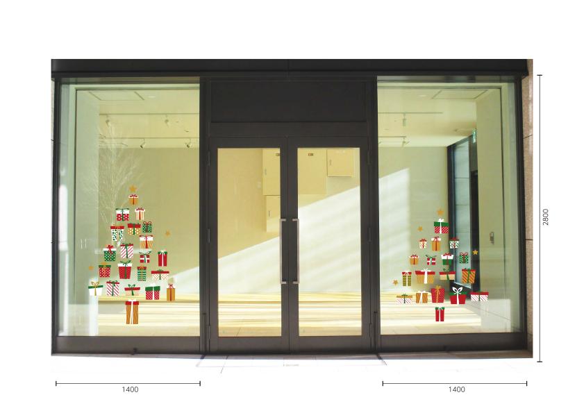 【VP】Gift box treeの施工写真